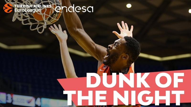 Endesa Dunk of the Night Michael Eric, CSKA Moscow