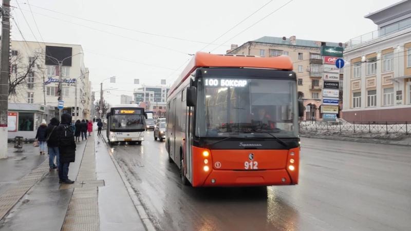 По итогам месяца работы троллейбусного маршрута №100 Чебоксары Новочебоксарск