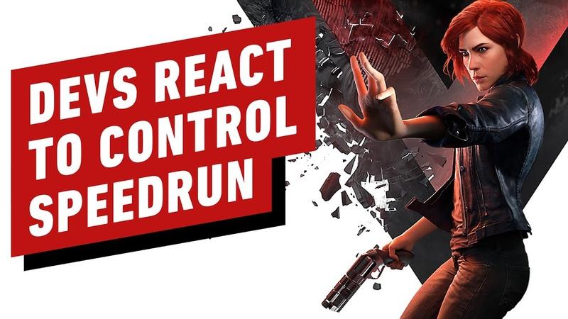 Control Developers React to 49 Minute Speedrun смотреть онлайн без регистрации