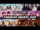 Soribada K Music Awards 2020 - VOTE NOW | How to vote soribada awards 2020 |