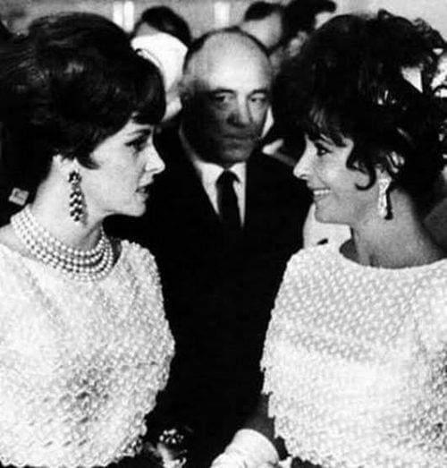 В 1961 году на II Московском международном кинофестивале две кинозвезды  Джина Лоллобриджида и Элизабет Тейлор появились на приеме в Кремле в одинаковых платьях от Dior.