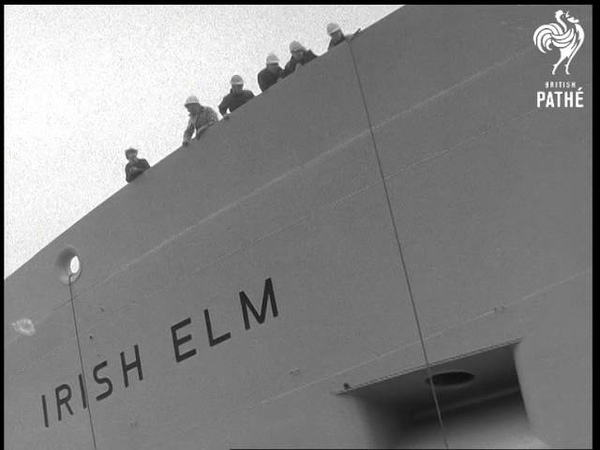 Launching Of Irish Elm Special For Eire 1967