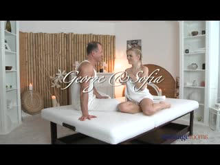 George And Sofia (MassageRooms) (2014) Creampie, Gonzo, Oil, Massage, All Sex, 1