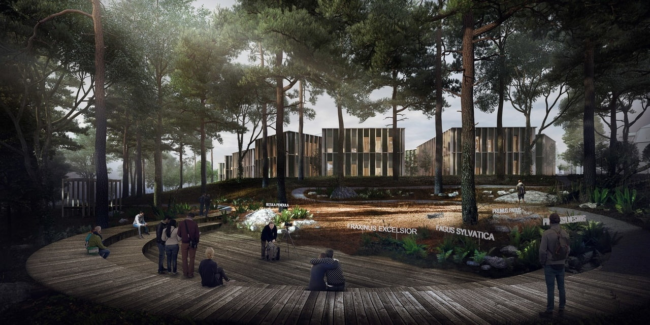 Landscape and Building Merge in New Czech Forestry Commission Centre