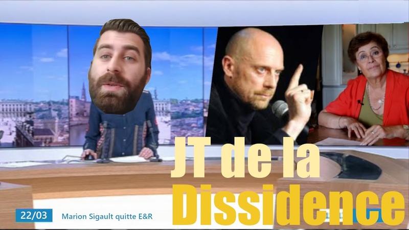 JT de la Dissidence n°3 Lapierre et la trahison de Macron Radio Franche Dissidence et Coronavirus
