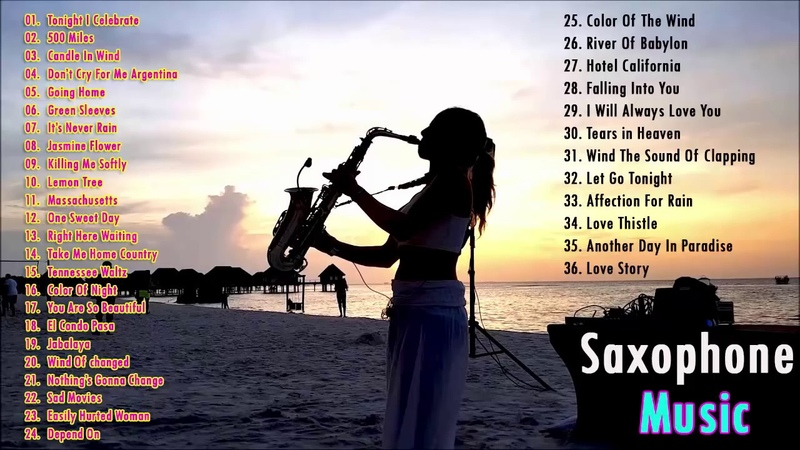Beautiful Romantic Saxophone Love Songs Collection 2019 24 7 Relaxing Music