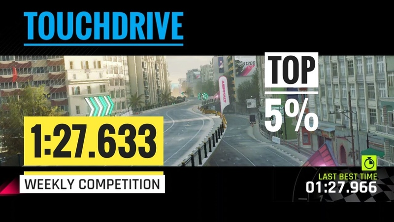 Touchdrive Asphalt 9 Weekly Competition THOUSAND MINARETS MAZDA FURAI 1 27 633 Top5%