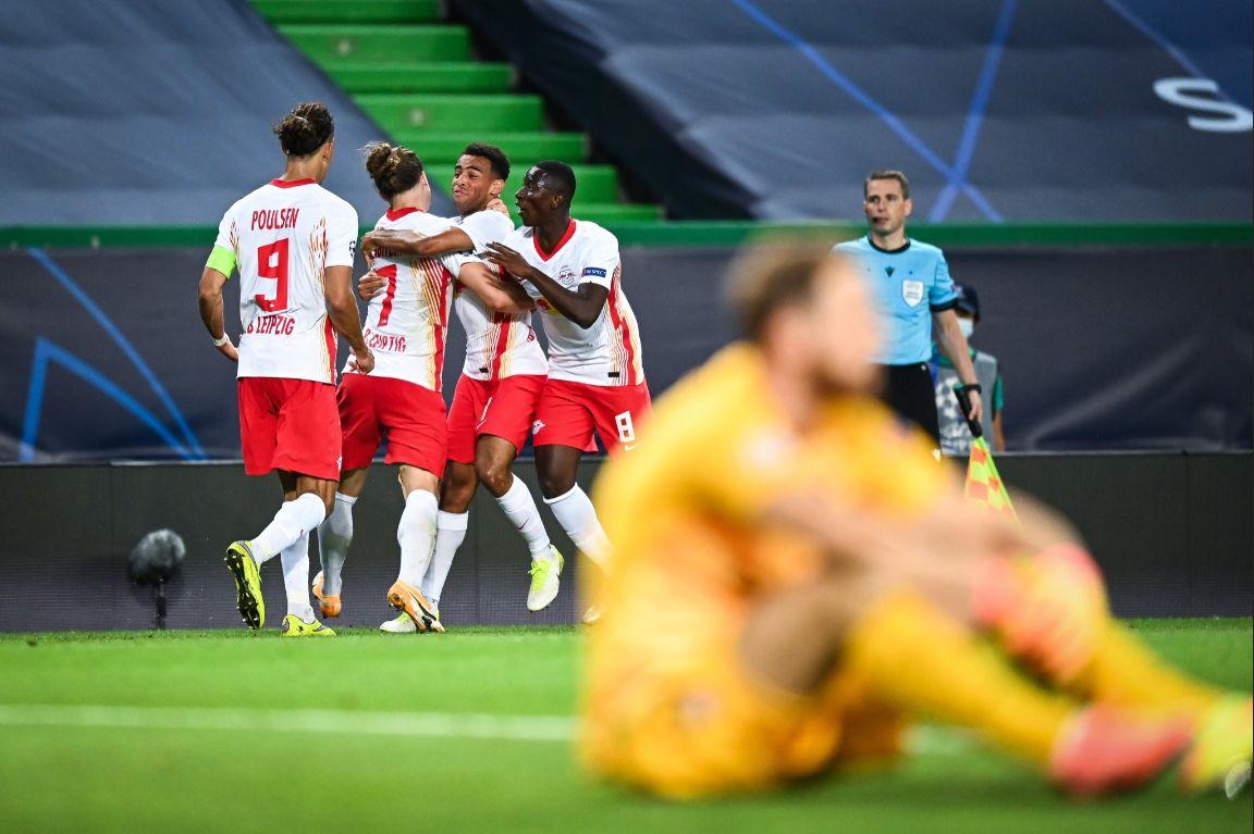 РБ Лейпциг - Атлетико Мадрид, 2:1. Лига чемпионов 2019/20