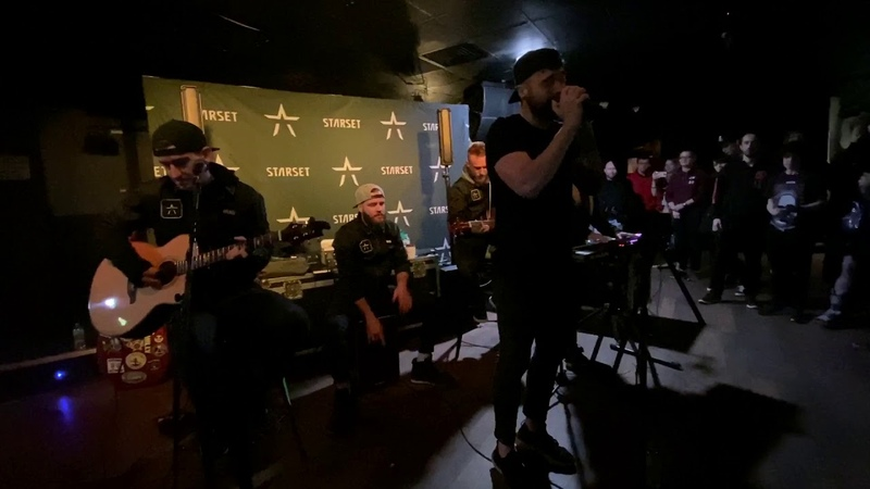 Starset Monster [Acoustic Live Debut] (Bristol, England - February 12, 2020)