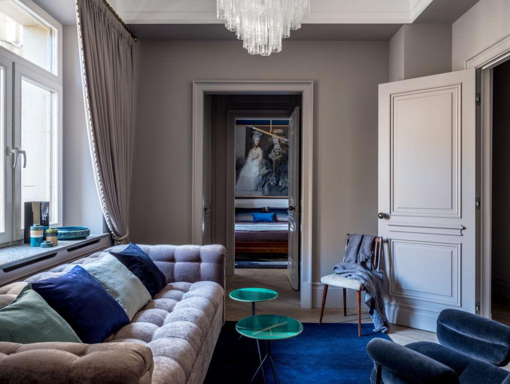 Квартира в высотке на Красных воротах, 60 м² от дизайнера Ольги Тищенко