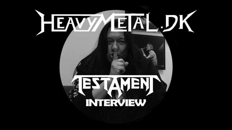 Interview with Testament Eric Peterson