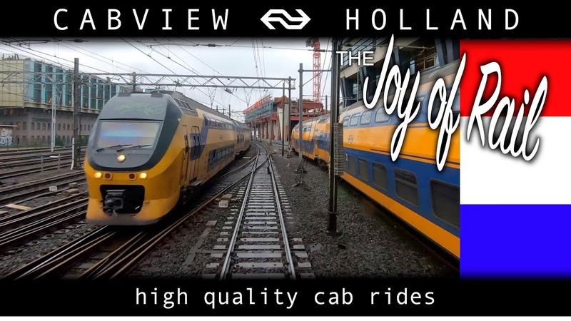 Amsterdam - Utrecht CABVIEW HOLLAND SGM 9jan 2020