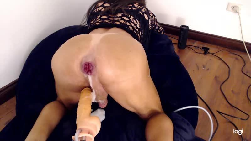 Cd Marie gapes and farts amateur, crossdresser, anal, sex