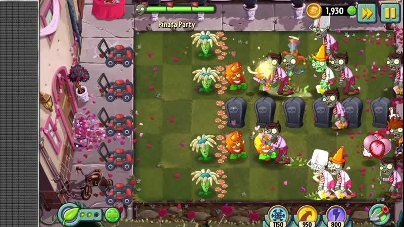 Plants vs. Zombies 2 - Piñata Party 16.02.20 - Безумные причуды 💞