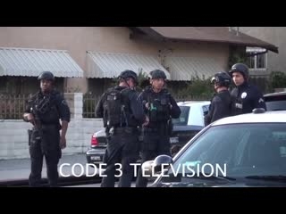 Department of Justice | Hollywood Police Pursuit. Code 3