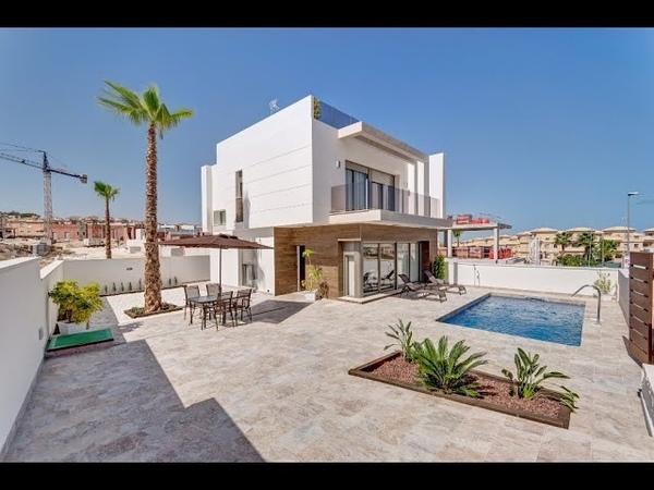 Maison contemporaine ✅ à vendre à Orihuela Costa sur la Costa Blanca