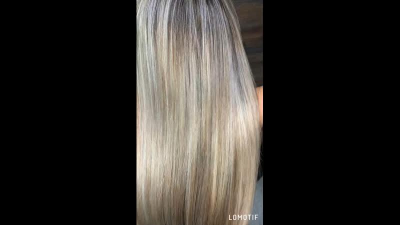Реконструкция ботокс восстановление волос и питание