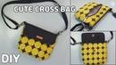 DIY CUTE CROSSBODY BAG/ Mini Cross Body Bag Sewing Pattern/ sewing tutorialsTendersmile Handmade