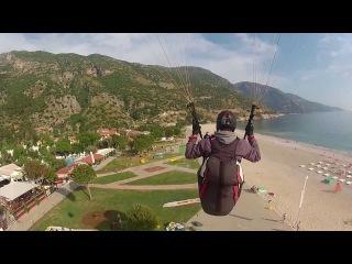 Paragliding at Mt. Babadağ (Öℓüdeniz, Turkey)