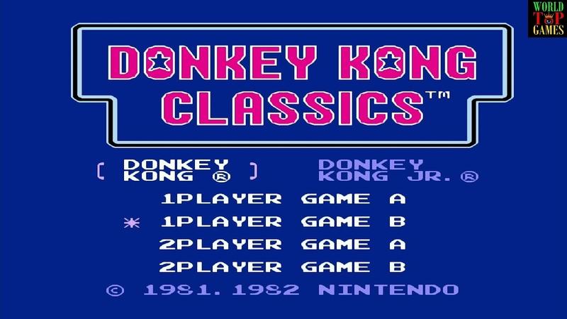 Donkey Kong Донки Конг Денди Dendy NES Famicom Nintendo