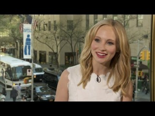 "Candice Accola on ""Vampire Diaries"" Spinoff"