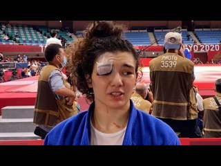 Интервью бронзовой медалистки Мадины Таймазовой