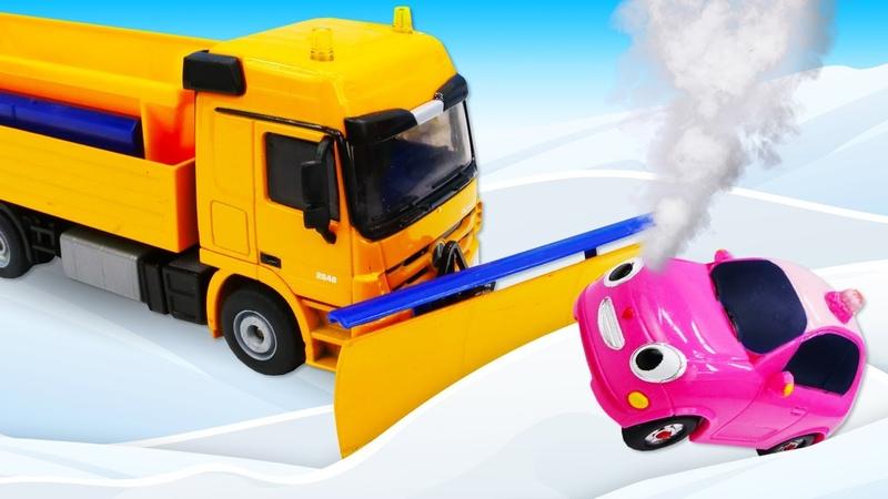 Tayo le bus et la neige Les véhicules d'assistance Vidéo en français pour enfants