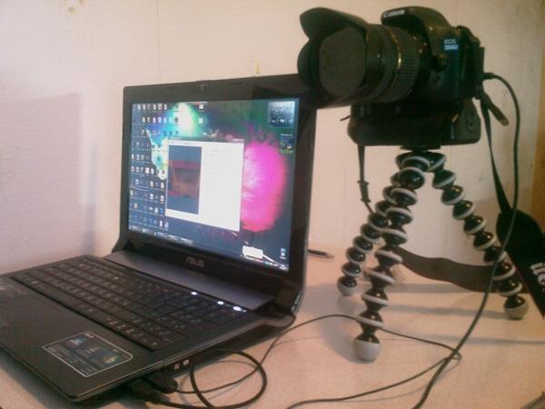 монтажа как из фотоаппарата сделать веб камеру давно