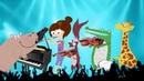 Звери играют на музыкальных инструментах! Детские песенки. Классическая музыка для детей.