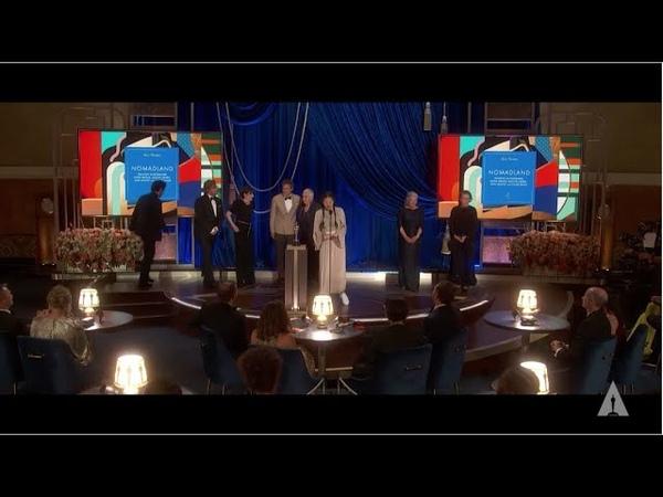 Nomadland Wins Best Picture 93rd Oscars
