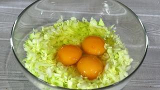 Добавляю яйца в капусту и готовлю на ЗАВТРАК, ОБЕД или УЖИН!