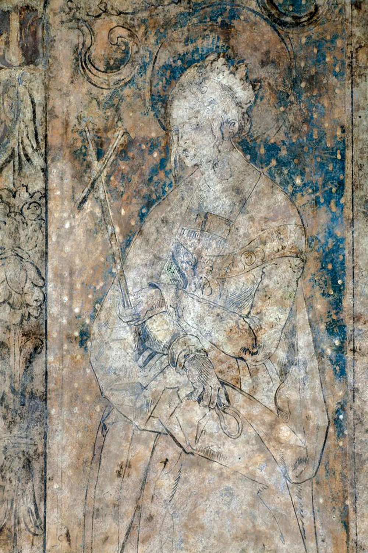 Неизвестная фреска Дюрера была найдена в соборе Святого Стефана в Вене