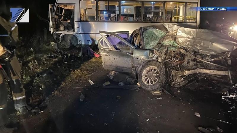Две аварии произошли в городе