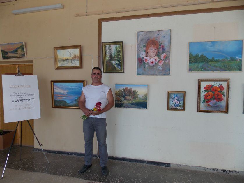 Выставка работ петровского художника Алексея ШЕПЕТКИНА проходит в дистанционном формате