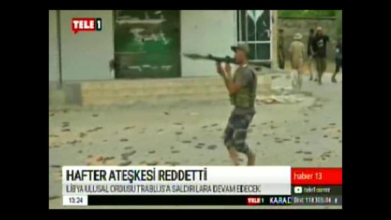 HAFTER ATEŞKESİ REDDETTİ. 10.1.2020. CUMA