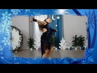 Новогодний концерт Королева Ира. Постановка Кристины Алдошиной