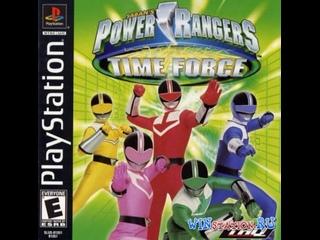 мое личное прохождение игры для Playstation 1  Могучие рейнджеры: Патруль времени  Power Rangers Time Force