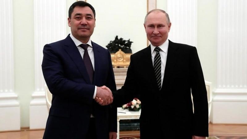 О чем договорились Путин и Жапаров