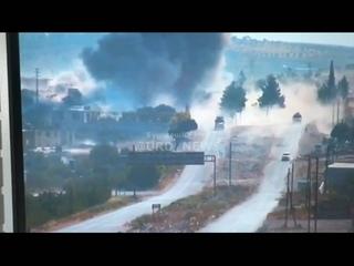 Сирия подрыв Россиско-Турецкого конвоя