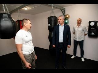 В Котельниче открылся первый зал для занятий боксом
