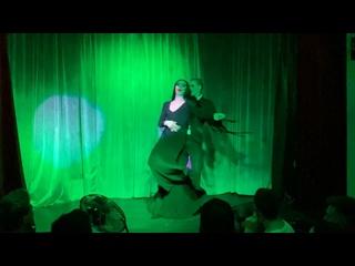 Танец Мартиши и Гомеса (семейка Адамс) - Просто Люда и Денчик