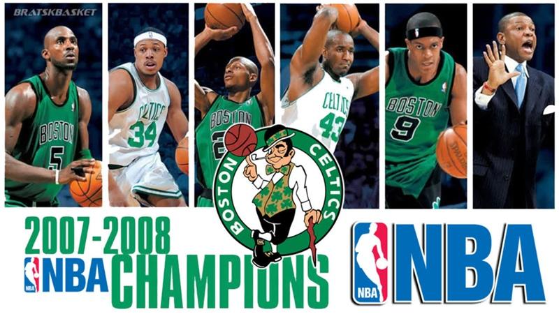 BratskBasket NВА Chаmpiоns 2007 2008 Boston Celtics 2008 Rus ᴴᴰ