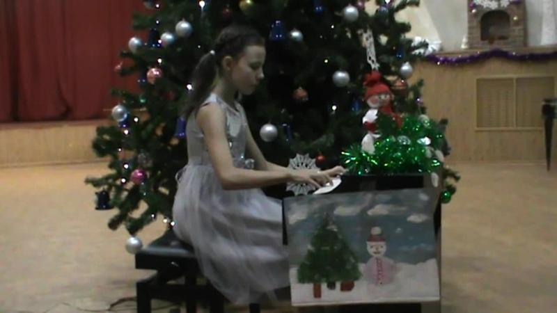 Новогоднее счастье Ольга Кравчук композитор Таисия Гуцуляк исполнитель