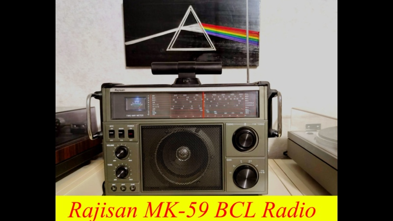 Rajisan MK 59 BCL Radio 6 Band Receiver