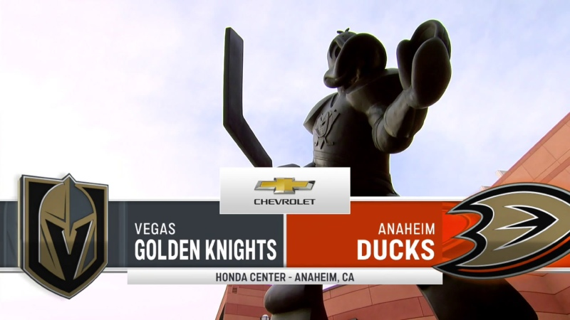 NHL 20 21 RS Vegas Golden Knights Anaheim Ducks 16 04 2021 BSSC
