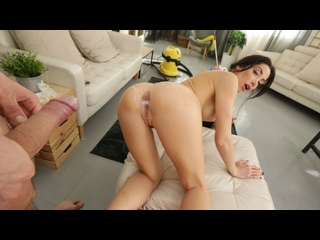 Clea Gaultier - Anal with the Dirty Maid (All Sex Porn Blowjob Anal Gonzo Cumshot Amateur Big Tits Milf Doggy Missionary Cowgirl