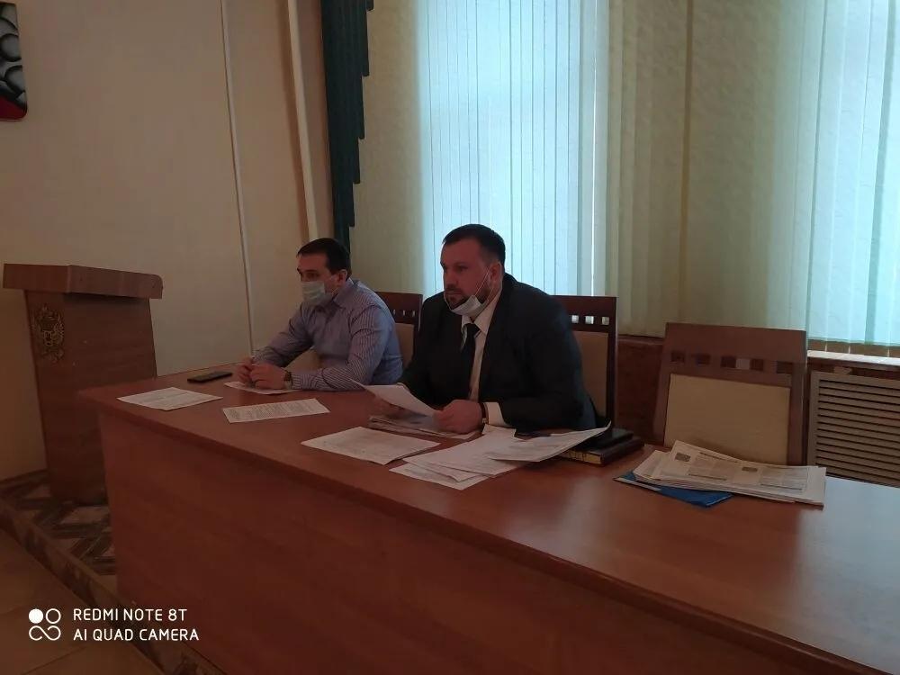 Состоялось очередное заседание межведомственной комиссии по контролю за поступлением средств в бюджеты всех уровней
