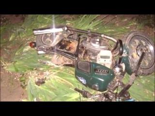 Жестокие аварии на Советских мотоциклах [18+]