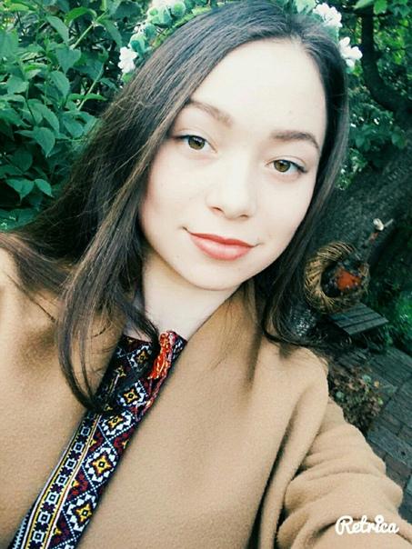Оксана Сливінська, 19 лет