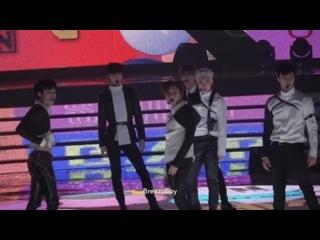 [VK][171231] MONSTA X fancam - Dramarama + Intro @ MBC Gayo Daejejeon : The FAN